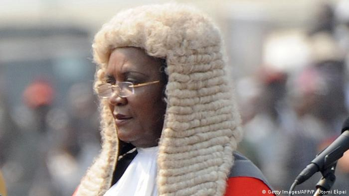 Ghana Chief Justice Georgina Wood