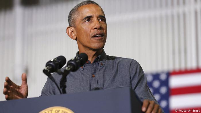 Barack Obama, presidente de EE. UU.
