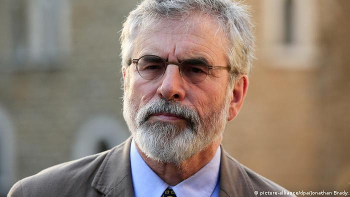 Gerry Adams Irland Porträt (picture-alliance/dpa/Jonathan Brady)