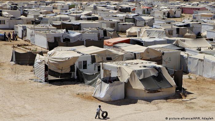 Jordanien Zaatari Flüchtlingslager