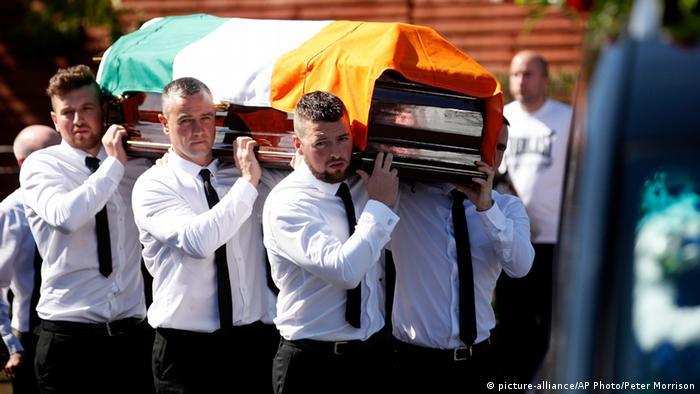 The funeral of Kevin McGuigan