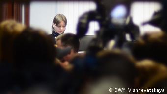 Судья Марина Орлова зачитывает приговор