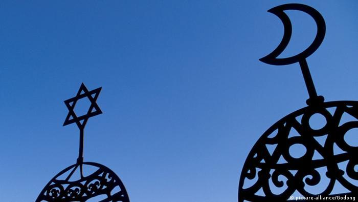 Symbolbild Judentum und Islam