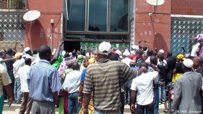 Apoiantes da RENAMO em Nampula
