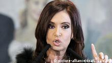 Argentinien Präsidentin Cristina Fernandez de Kirchner