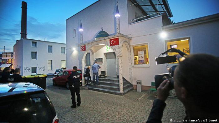 Bielefeld Vermummte greifen Moschee an (picture-alliance/dpa/S. Jonek)
