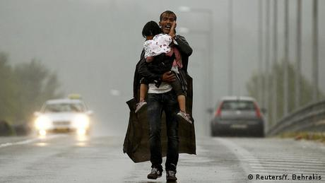 Mazedonien Griechenland Flüchtlinge bei Idomeni (Reuters/Y. Behrakis)