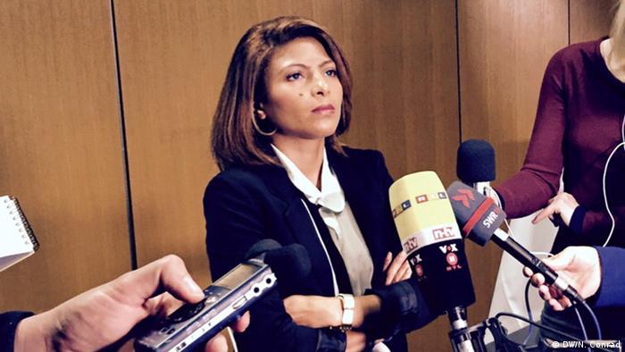 Deutschland Ensaf Haidar Frau von Raif Badawi PK in Berlin