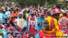 Tansania Wahlen Anhänger CUF