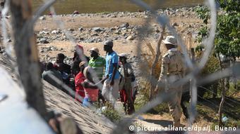 Frontera entre Haití y República Dominicana.