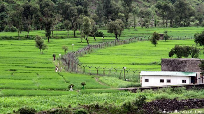 Grenze zwischen Indien und Kaschmir
