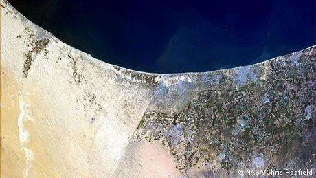 Grenze zwischen Ägypten und Israel