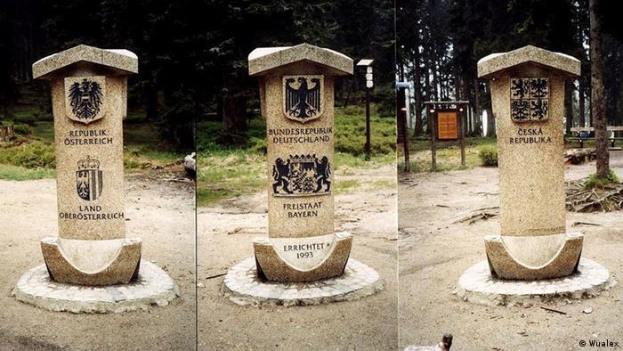 Dreiländereck Deutschland, Österreich, Tschechische Republik