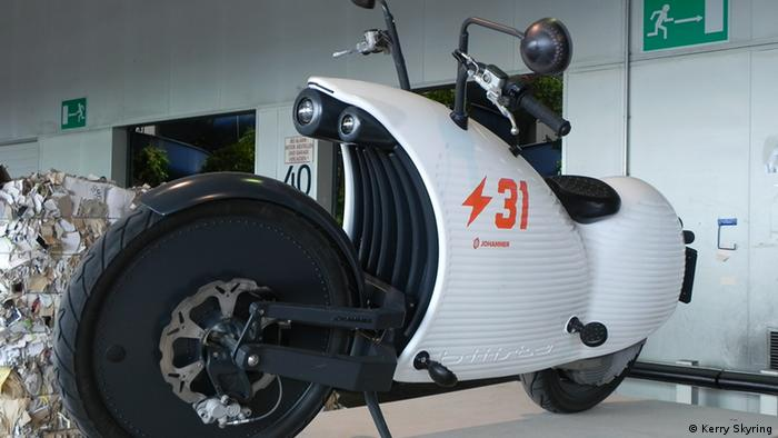 ARS Elektronik Messe Linz: An electric motorbike