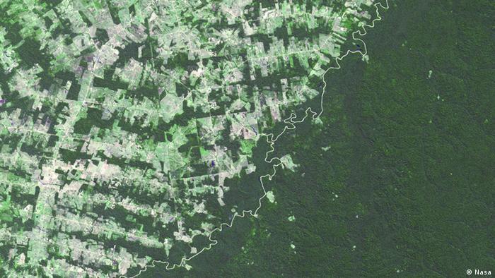 Grenze zwischen Brasilien und Bolivien