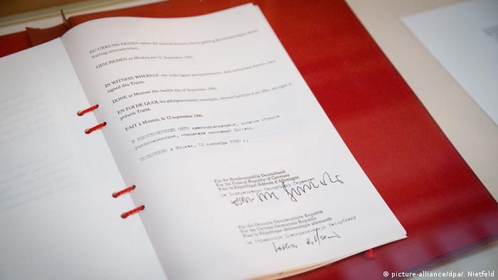 Berlin Gedenkveranstaltung 25. Jahrestag Unterzeichnung Zwei-plus-Vier-Vertrag