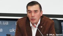 Kiew Dmitriy Dobrodomow Abgeordneter des ukrainischen Parlament