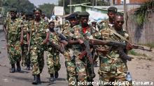 Burundi Soldaten Sicherheitskräfte Militär