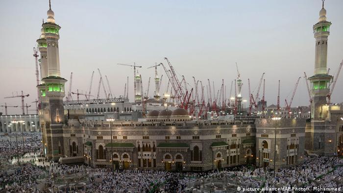 Saudi Arabien Mekka Große Moschee