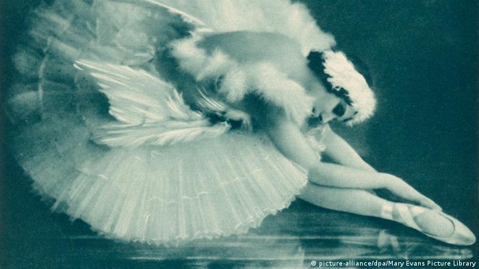 Балерина Анна Павлова. 1920 год