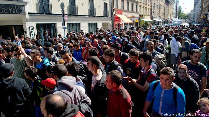 Europäer wollen faire Verteilung der Flüchtlinge