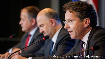 Luxemburg Treffen der Finanzminister