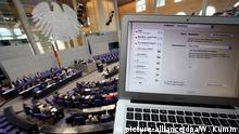 Symbolbild Cyberattacke Bundestag