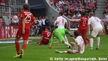 Fussball Bundesliga FC Bayern München vs. FC Augsburg