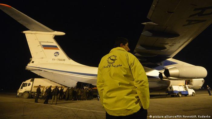 Російські літаки на аеродромі неподалік міста Латакія