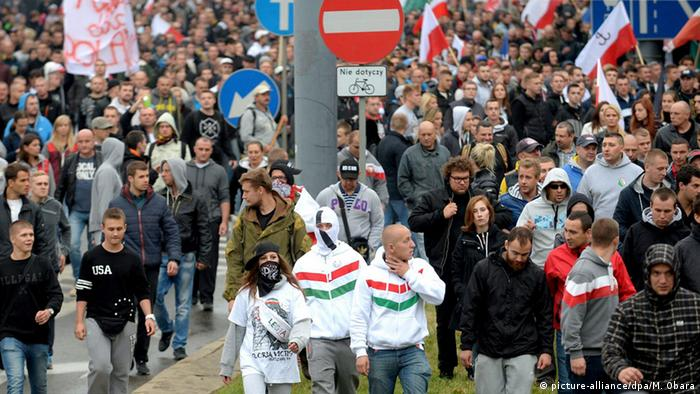 Protesters in Poland