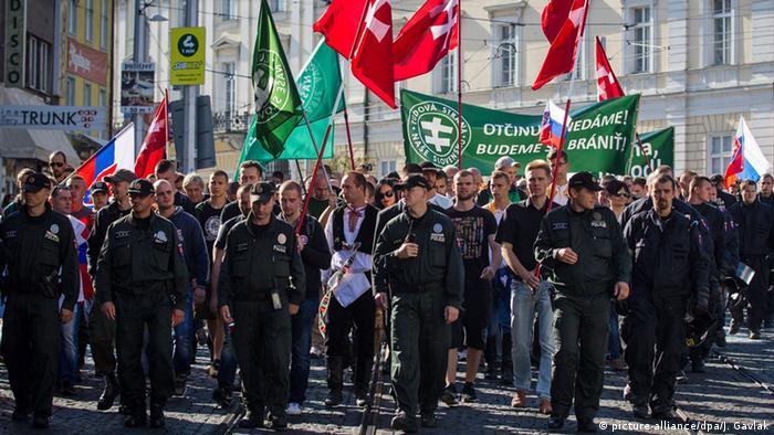 Slowakei Bratislava Proteste gegen Flüchtlinge