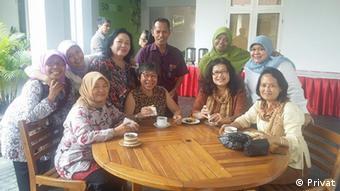 Vorstand des Deutschlehrerverbands Indonesien