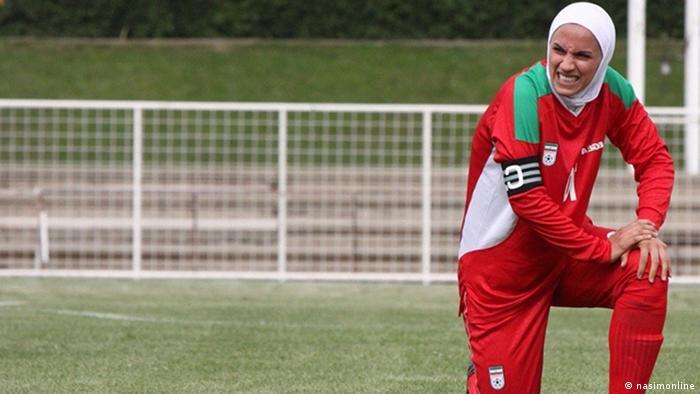İran Kadınlar Milli Futbol Takımı kaptanı Nilüfer Ardalan