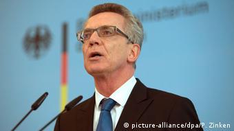 Deutschland Flüchtlinge Grenzkontrollen Thomas de Maiziere