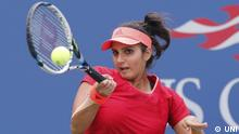 US Open Tennis New York Sania Mirza (UNI)