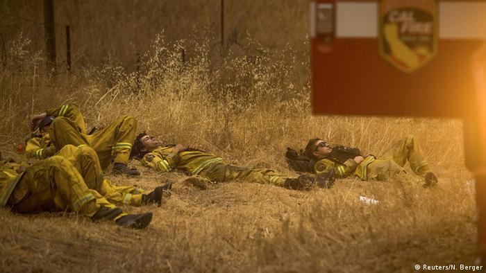 USA Waldbrände in Kalifornien weiten sich aus