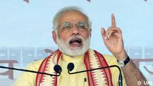 Indien Ministerpräsident Narendra Modi