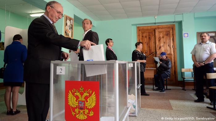 Russland Regional- und Kommunalwahlen 2015