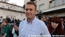Russland Regional- und Kommunalwahlen 2015 Alexei Nawalny