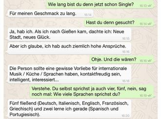 neue dating seite Gießen