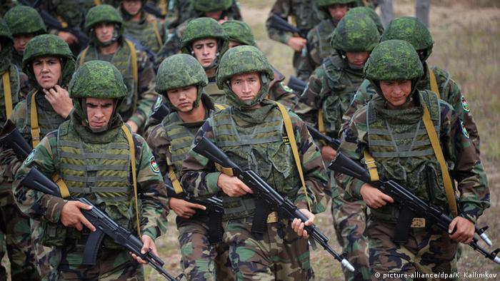 KSOR Manöver Militär Armee Soldaten Vzaimodeistviye 2015