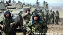 Russland Manöver Militär Armee Soldaten