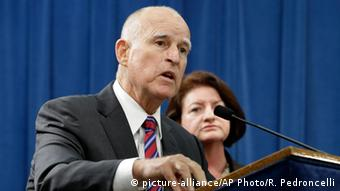 Kaliforniens Gouverneur Jerry Brown (Foto: picture-alliance/AP Photo/R. Pedroncelli)