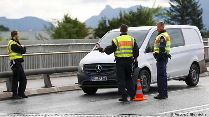 Контроль на германо-австрийской границе