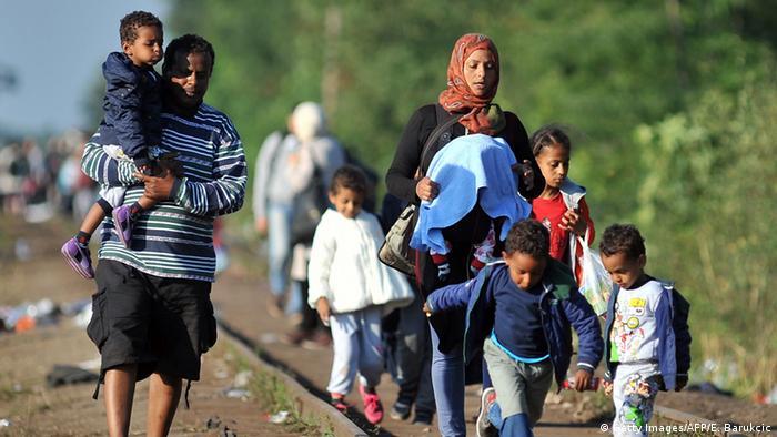 Ungarn Serbien Flüchtlinge Grenze