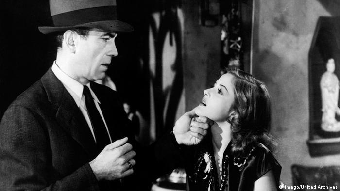Berühmte Ermittler in der Literatur Philip Marlowe Humphrey Bogart