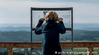 Great views of the surrounding area from the Panarbora viewing platform, Copyright: Maja Hitij/dpa