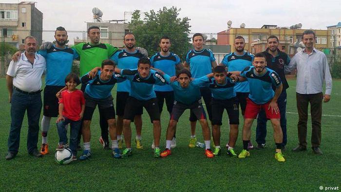 Абдель Мохсен с Командой надежды в Турции