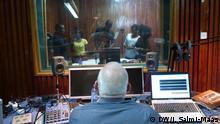 Schauspieler CrimeFighters-Produktion 2015 in Nairobi