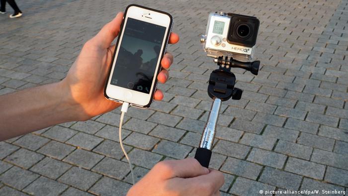 Symbolbild - Mobile Berichterstattung